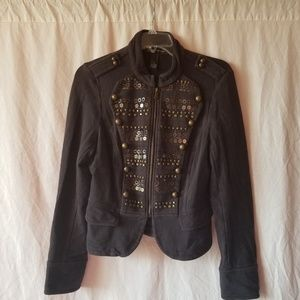INC INTERNATIONAL CONCEPTS embellished jacket